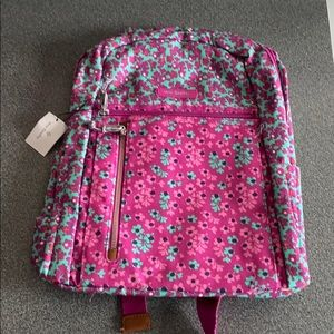 Vera Bradley small backpack ditsy dot.